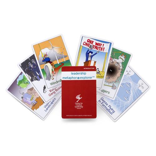 Leadership Metaphor Explorer Kit; card deck