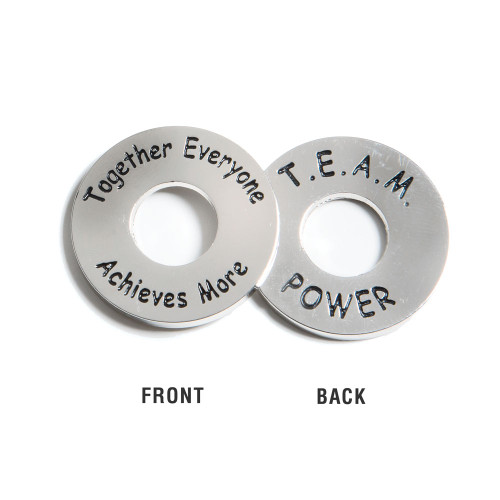 TEAM Power Tokens; front and back