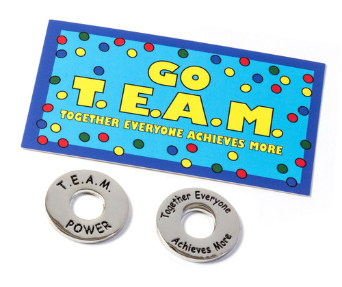 Go T.E.A.M. cards & TEAM Power Tokens