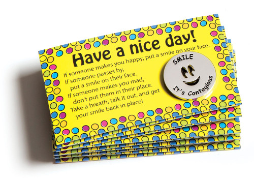 Smile Tokens and Nice Day Cards Combo