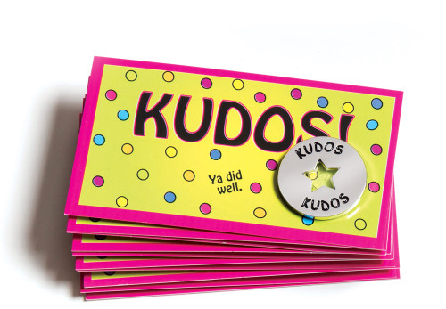 Kudos Tokens and Cards Combo