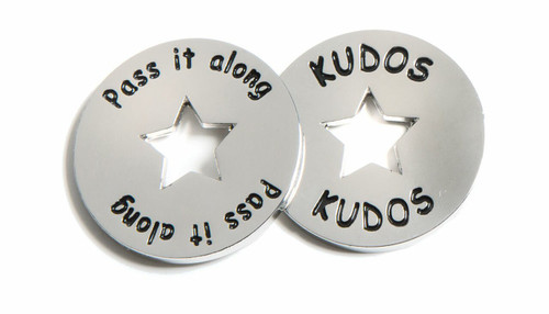 Kudos Tokens, front and back