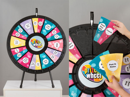 12- to 24-Slot Prize Wheel Tabletop model; customized
