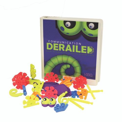 Communication Derailed Game Kit parts