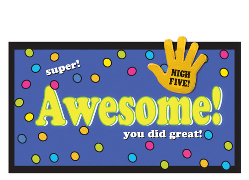 Awesome Cards & High Five Lapel Pins