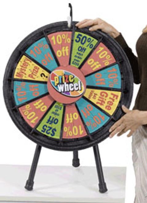 Mini Prize Wheel -  20 in. diam.