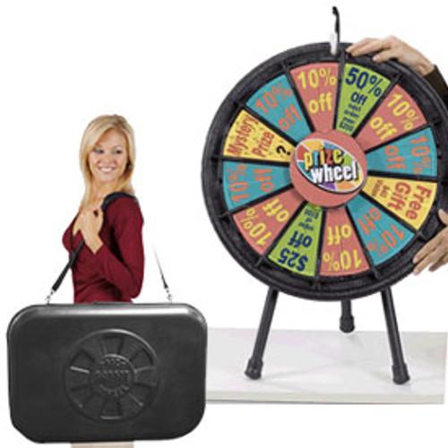 Mini Prize Wheel; with case
