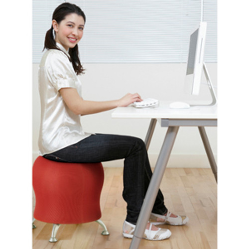 Woman seated on Zenergy Ball Chair