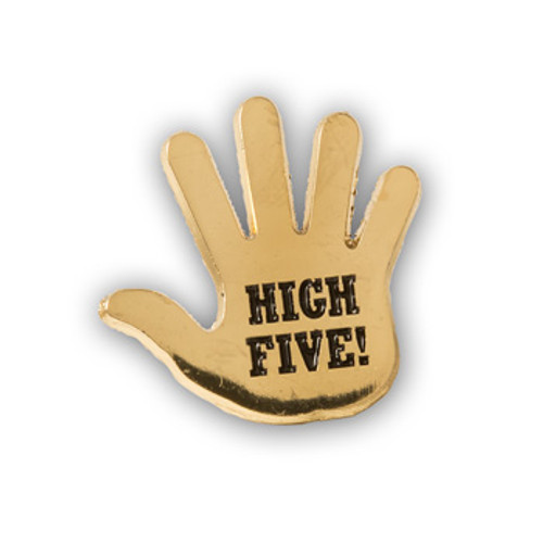 High Five Lapel Pin