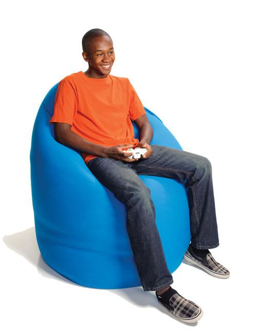 Yogibo Max Lounge Chair; as a chair