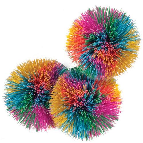 Rainbow Pom Balls; bundle