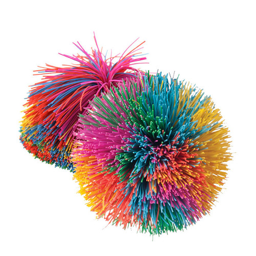 Bundle of Rainbow Pom Balls (set/10)