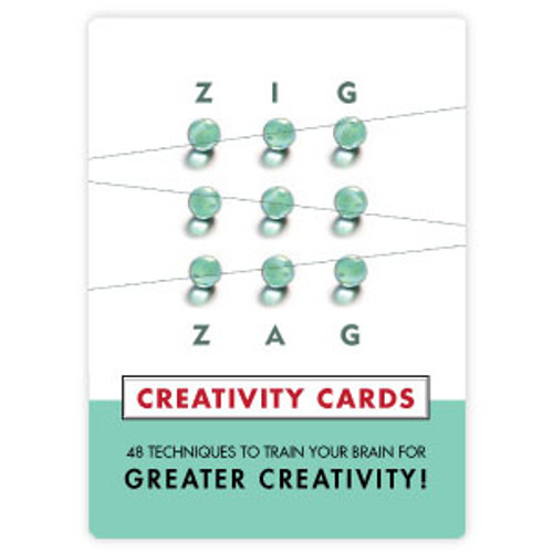 Zig Zag Creativity Cards