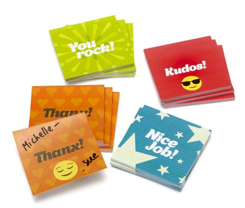Mini Kudos Sticky Notes