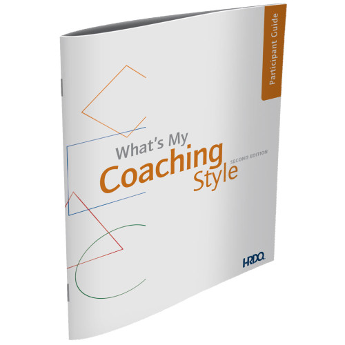 What's My Coaching Style? Self Assessment/Participant Guide (pk of 5)