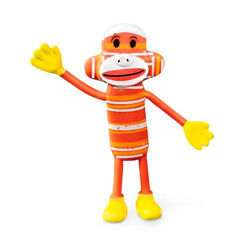 Colorful Bendable Sock Monkey