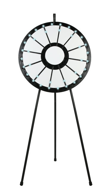 LIGHT-UP Prize Wheel with 12- to 24-Slots; blank