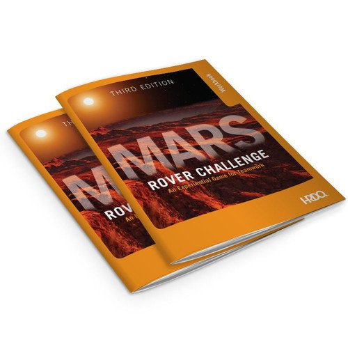 Mars Rover Challenge Teamwork Game; workbooks