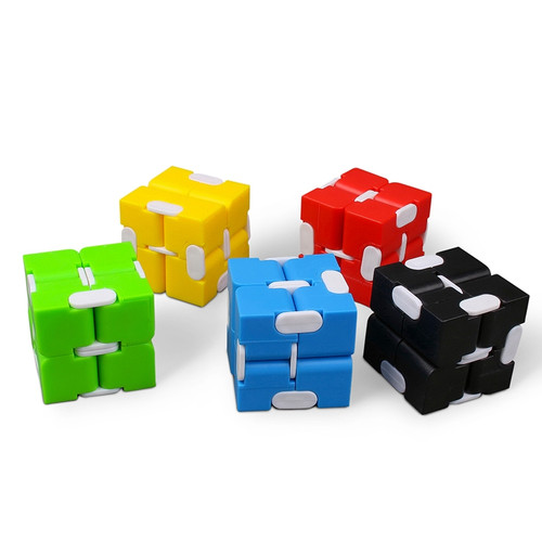 Infinity Cube; assorted colors, as cubes