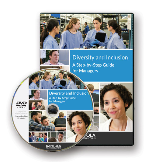 Diversity and Inclusion DVD, Step-by-Step Guides; for managers