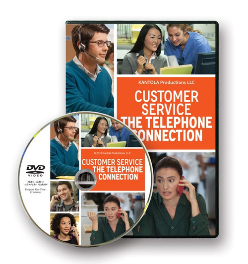 Customer Service Telephone Connection DVD