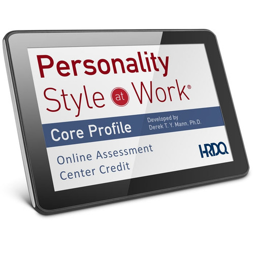 Personality Style at Work Online Assessment & Analysis