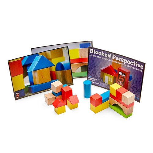 Blocked Perspective Team building Game