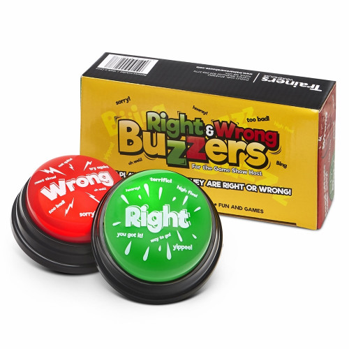 Right & Wrong Answer Buzzers