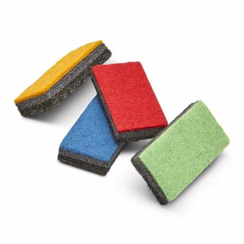 Multi Colored Whiteboard Mini Erasers; 4 assorted colors