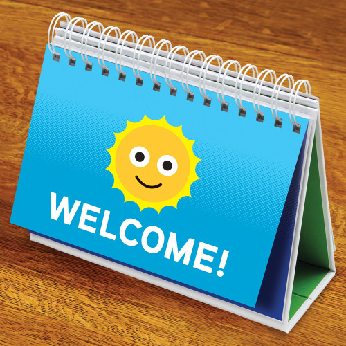 Deskmate Plus, Welcome sign