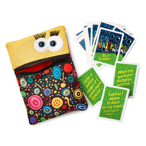 UNZiP-it! with Be A Leader Card Deck