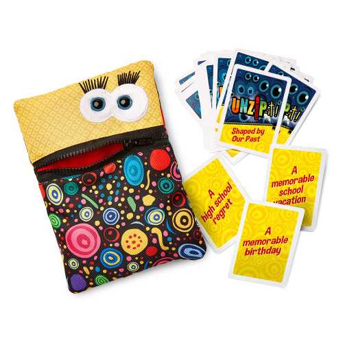 UNZiP-it! with Shaped By Our Past Card set