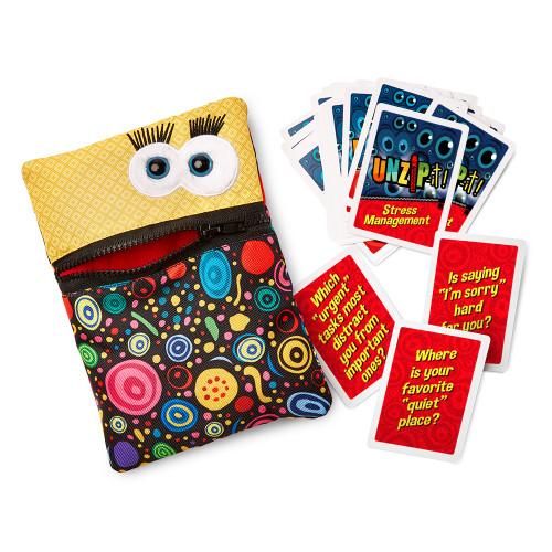 UNZiP-it! with Stress Management Card Deck