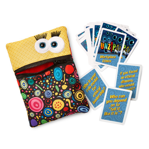 UNZiP-it! with Workplace Ethics Card Deck, set
