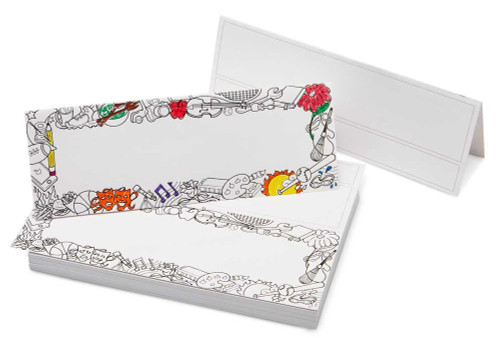 Disposable Doodle Tent Cards (100/pack)