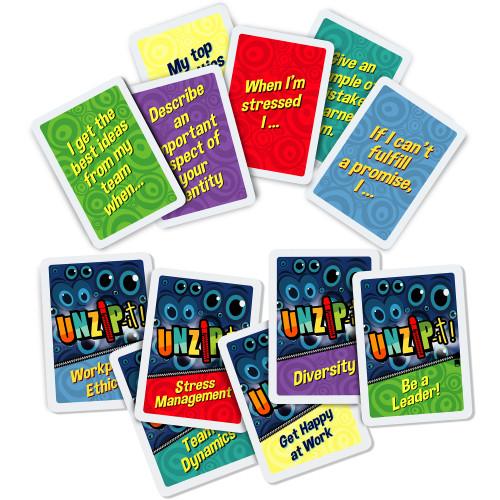 Team Development Unzip-It! Set, 6 card decks