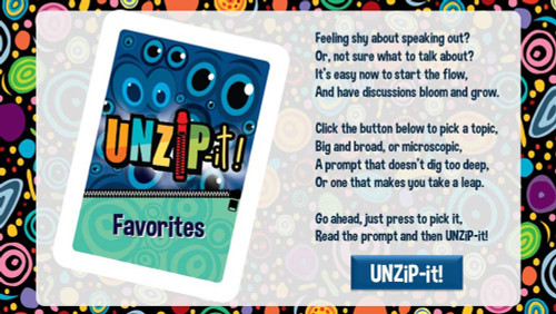 UNZiP-it! Remote w/ Favorites Prompts - splash screen