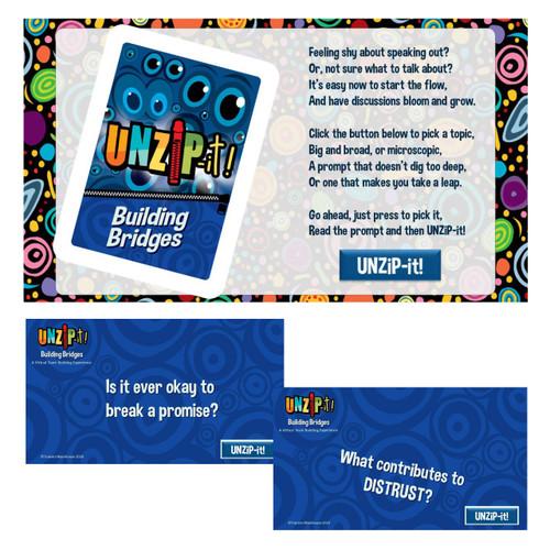 UNZiP-it! Remote w/ Building Bridges Prompts