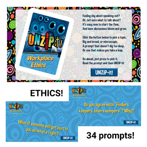 UNZiP-it! Remote w/ Workplace Ethics Prompts