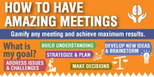 How to have Amazing Meetings infographic