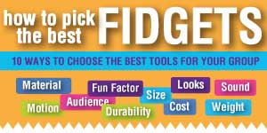 How to Pick the best Fidget Toys Infographic
