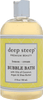 Deep Steep Lemon Cream Bubble Bath