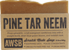A Wild Soap Bar Pine Tar Neem Oil Organic Soap Bar