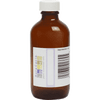 Amber Bottle With Writable Label - 4 oz.
