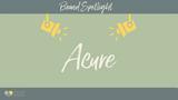 Brand Spotlight: Acure