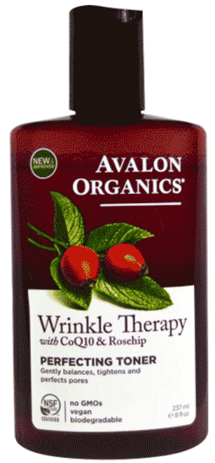 Wrinkle Therapy Perfecting Toner with CoQ10 & Rosehip Facial Cream
