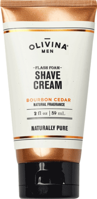 Flash Foam Shave Cream - Bourbon Cedar 2.5 fl oz