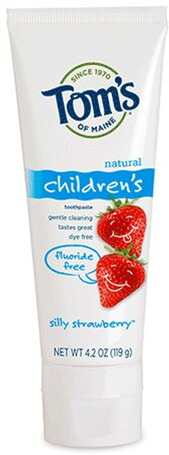 Fluoride Free Kid's Toothpaste - Silly Strawberry
