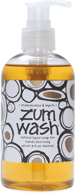 Frankincense & Myrrh Zum Wash Liquid Soap