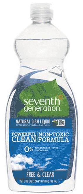 Free & Clear Dishwashing Liquid - 25 oz.